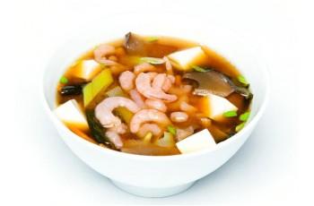 Мисо-суп с креветкой