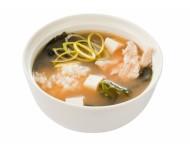 Мисо-суп с курицей