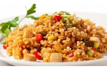 Рис паровой с овощами
